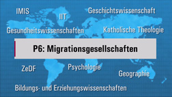 Video of  profile line 6: Migration societies. YouTube-Channel Osnabrueck University.