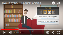 "Standbild TwoGo-Video ""So funktioniert's"".  © TwoGo by SAP"
