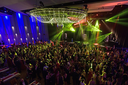 Ball der Universität 2018. Foto: Hermann Pentermann