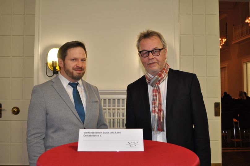 Rüdiger Rolf und Rüdiger Kuhlmann, © Universität Osnabrück / Utz Lederbogen