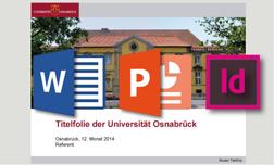 Corporate Design Universität Osnabrück